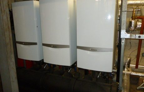 School heating - Commercial Vaillant boiler installation