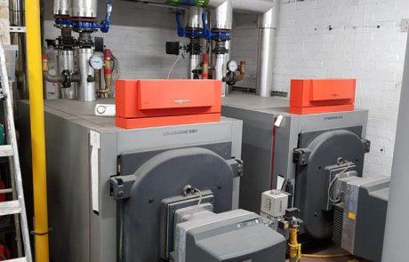 Commercial boiler servicing